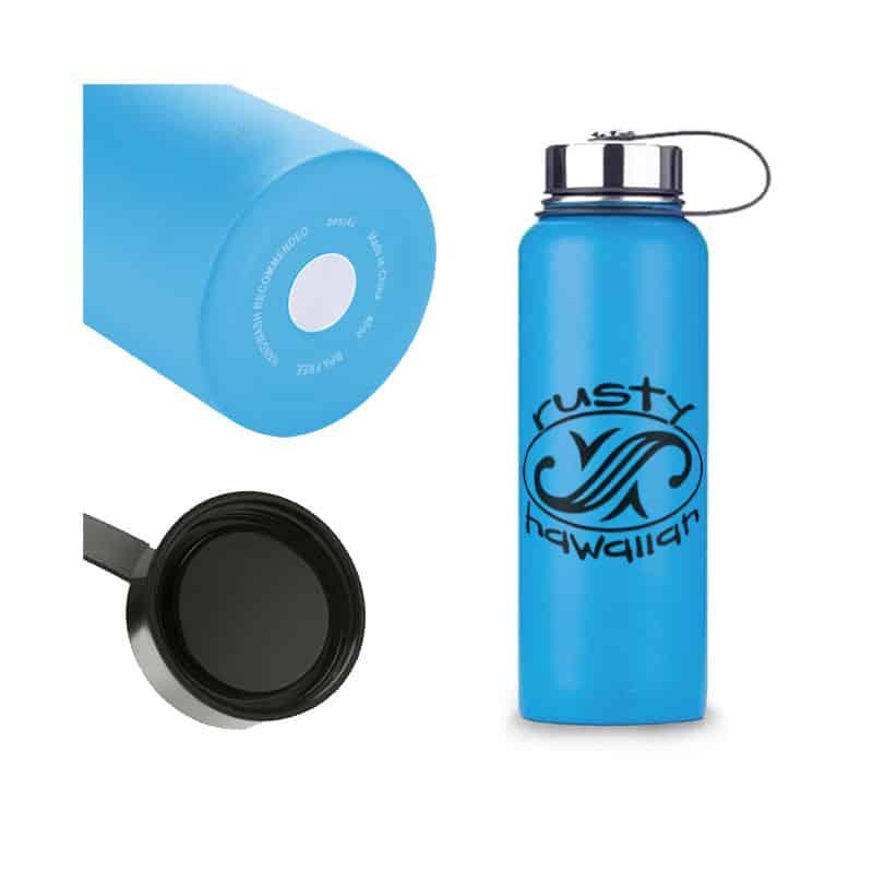 Rusty Hawaiian Insulated Water Bottle - Multi Picture