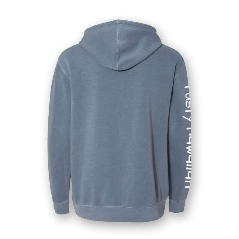 Pacific Northwest Beach Washed Hooded Sweatshirt Back Product Picture