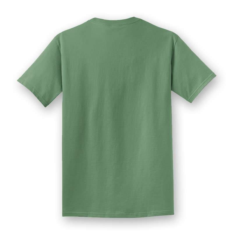Rusty Hawaiian Beach Washed Short Sleeve Tee Shirt Back Product Picture
