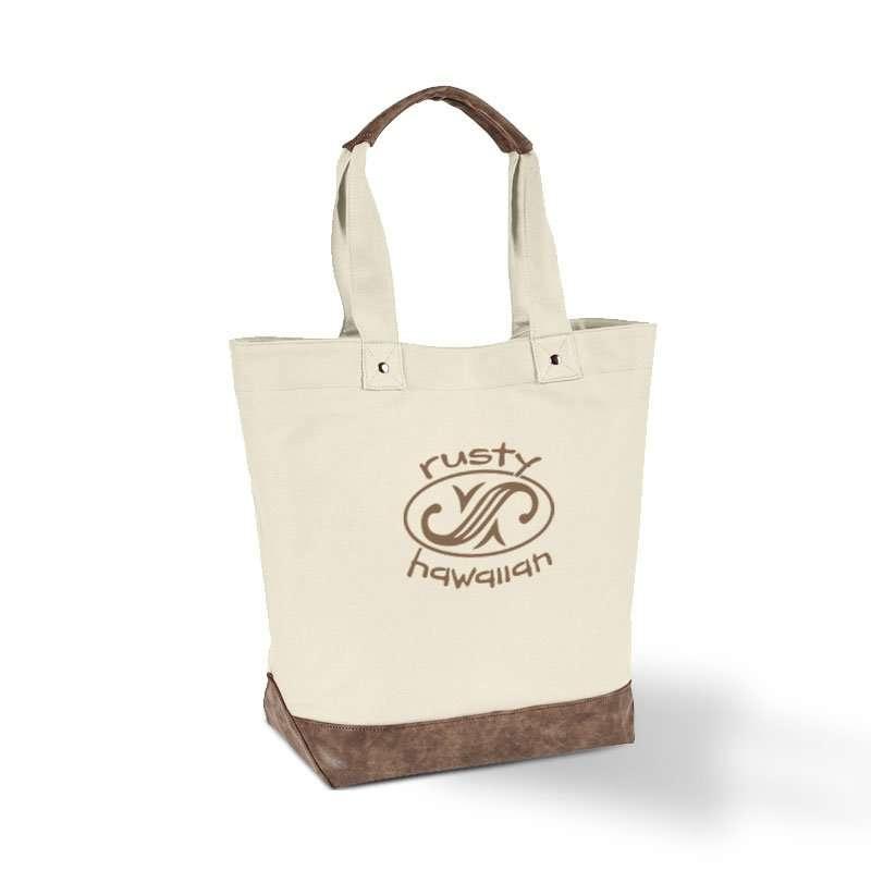 Rusty Hawaiian Oval Logo Tote Bag